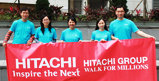 picture: Hitachi Group 2011 Walk for Millions Activity